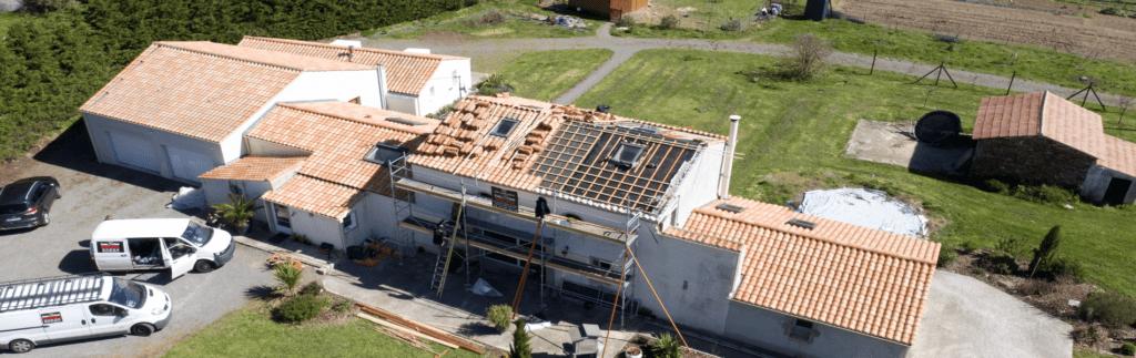 Rénovation d'une toiture à volige avec Boost'R Hybrid (85)