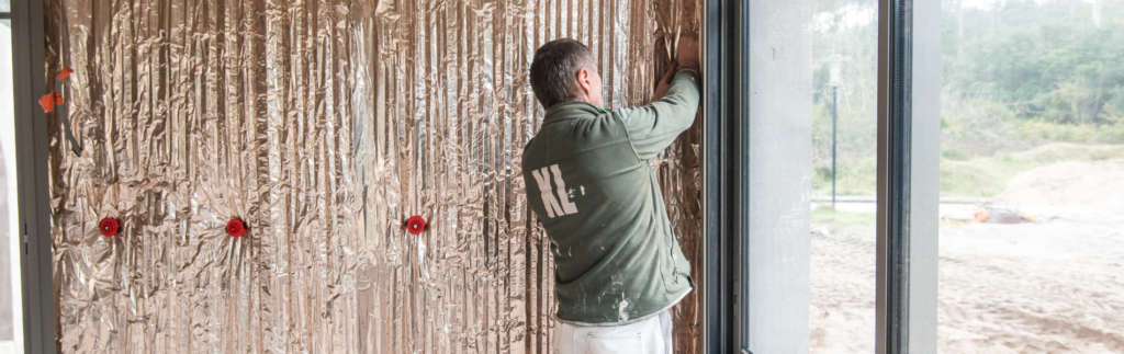 Isolation d'une villa d'architecte au Pyla-sur-Mer avec Hybris
