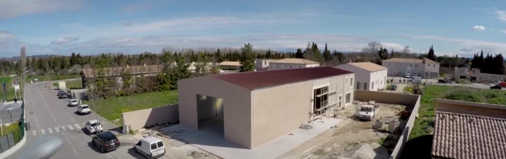 Isolation d'une maison individuelle et d'un hangar avec Hybris