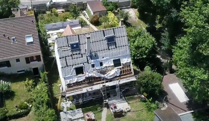 Rénovation de la toiture d'une maison individuelle avec Triso-Toiture