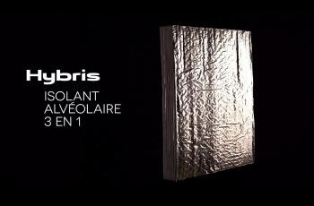 Une nouvelle vidéo de présentation pour l'isolant alvéolaire HYBRIS