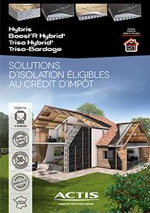 Découvrez toutes les solutions d'isolation ACTIS éligibles au crédit d'impôt