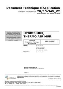 HYBRIS-DTA toiture