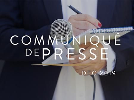 Communiqué de presse suite à l'article paru dans Les Echos le 12/12/2019