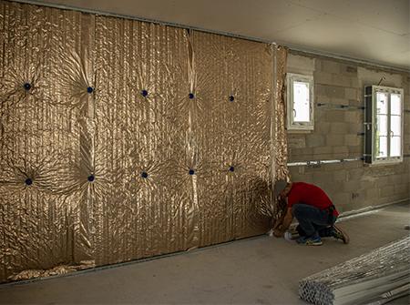 Rénovation de la toiture et des murs par l'intérieur avec Boost'R Hybrid et Hybris
